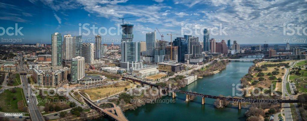 Bridges in Austin, Texas royalty-free stock photo