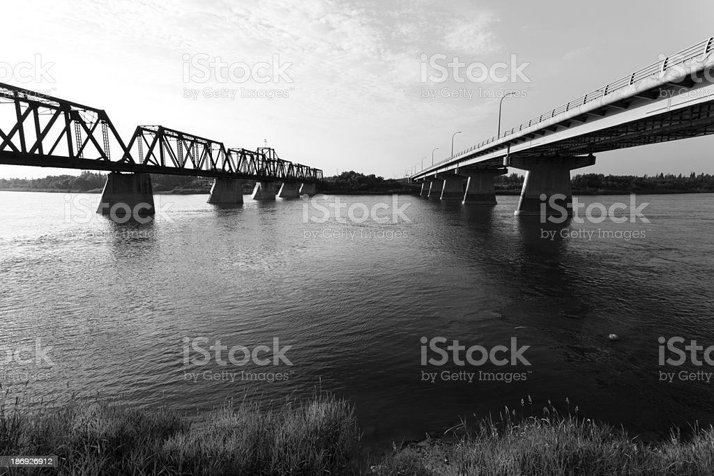 Bridges in Prince Albert royalty-free stock photo