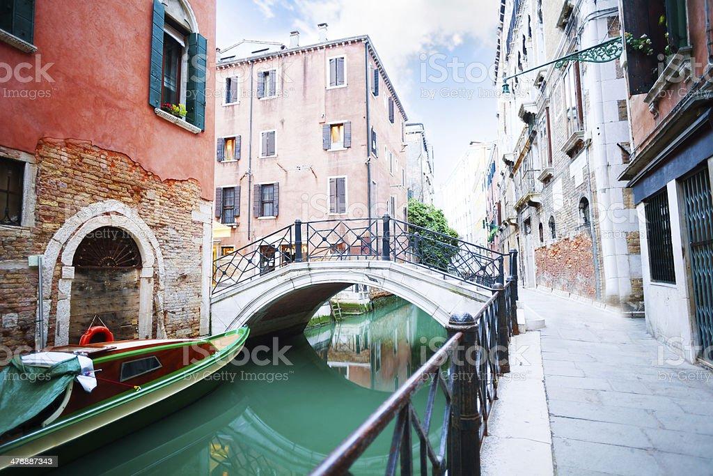 Bridges near saint Angelo square stock photo