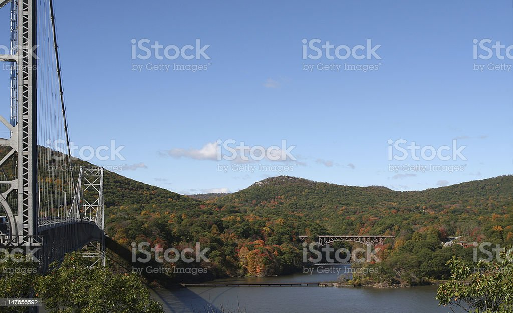 Bridges royalty-free stock photo