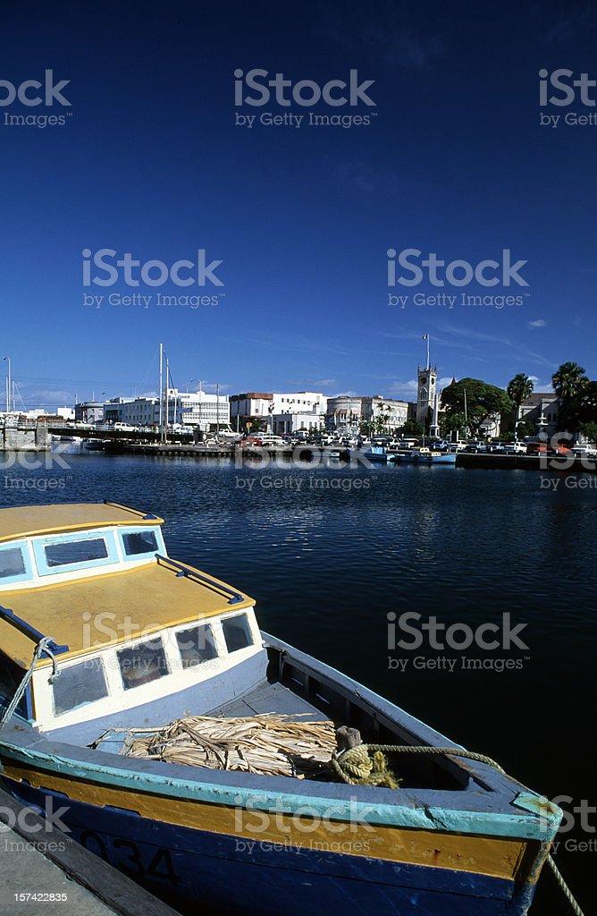 Bridgetown stock photo