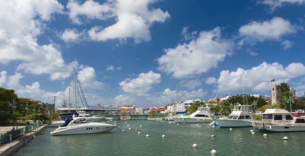 Bridgetown stock photo