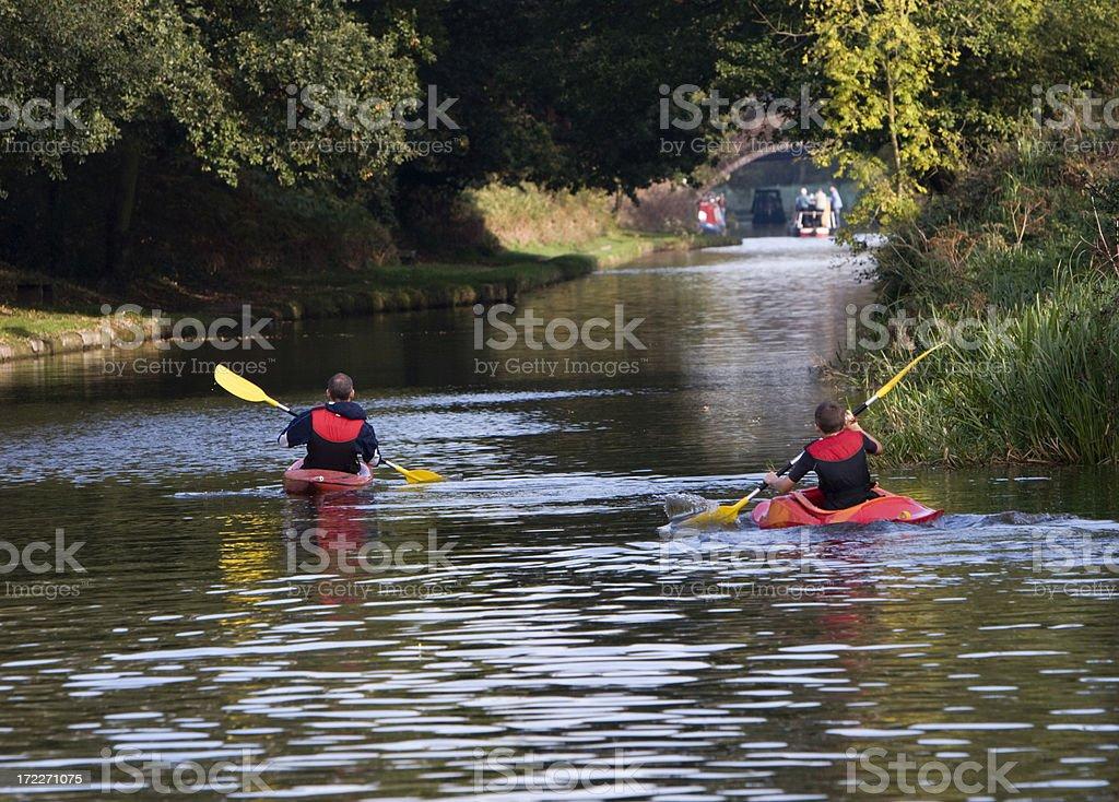 Bridgewater Canal, Moore, Cheshire, England royalty-free stock photo