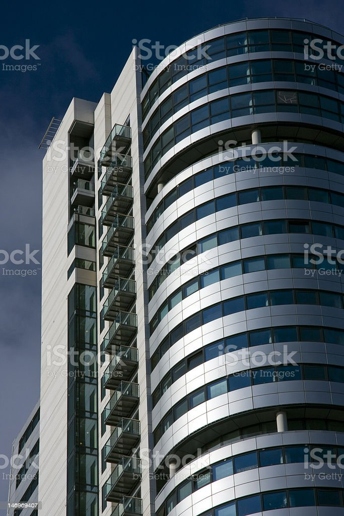 Bridgewater place, Apartments and Offices, Leeds, Yorkshire royalty-free stock photo