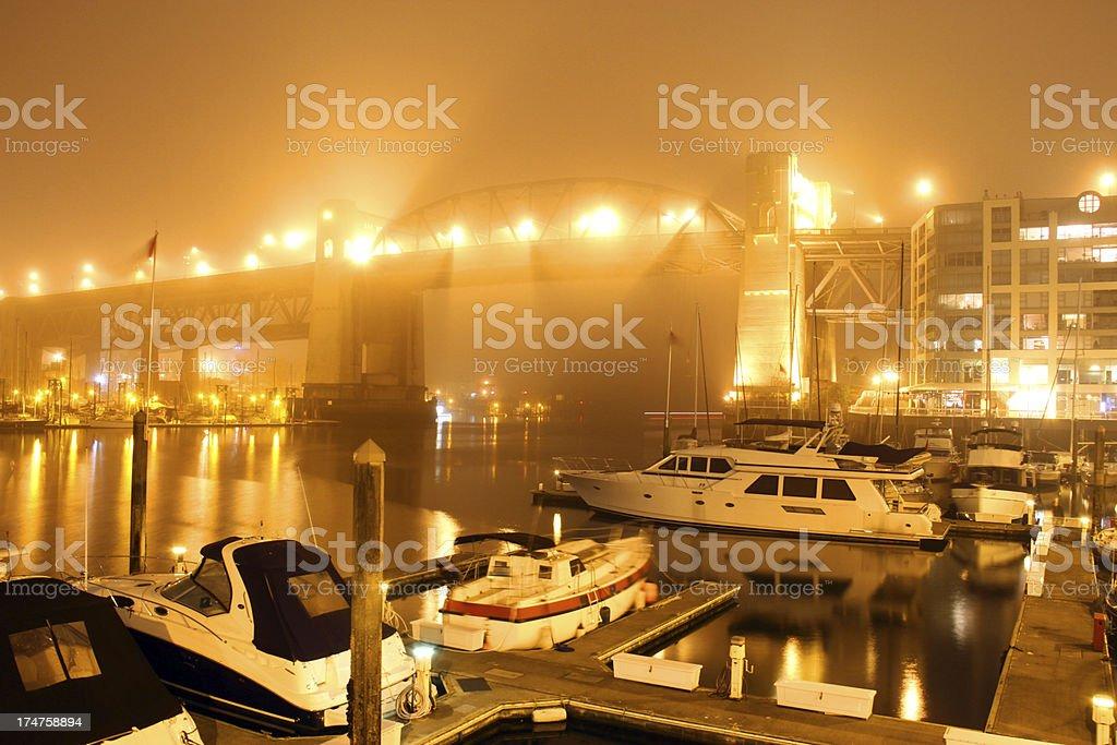 Bridging the Mist royalty-free stock photo