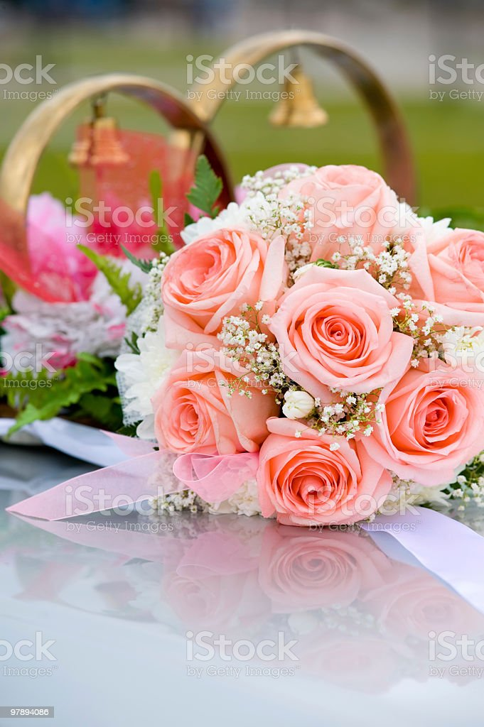 brides bouquet royalty-free stock photo