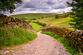 Swaledale is one of the most northerly dales in the Yorkshire Dales National Park, famous for its wildflower meadows, field barns and dry stone walls
