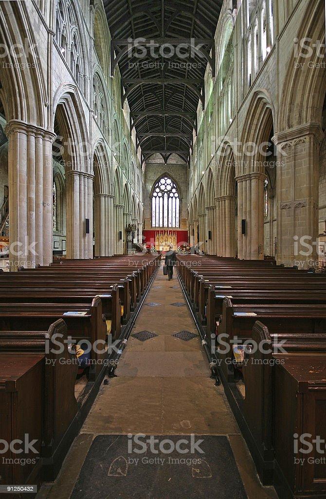 Bridlington Priory UK stock photo