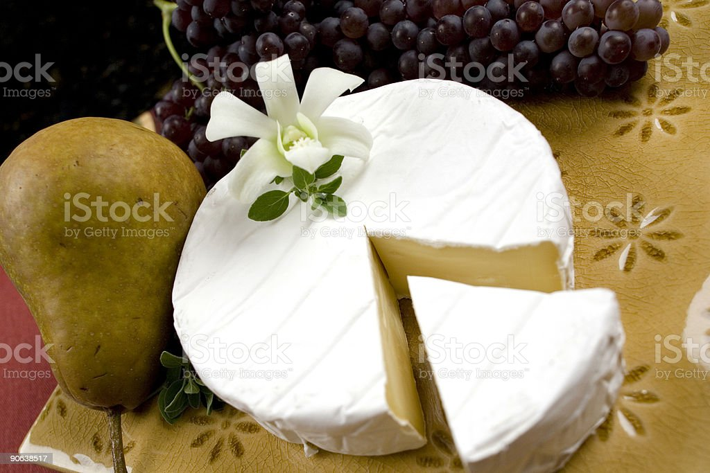 Brie royalty-free stock photo