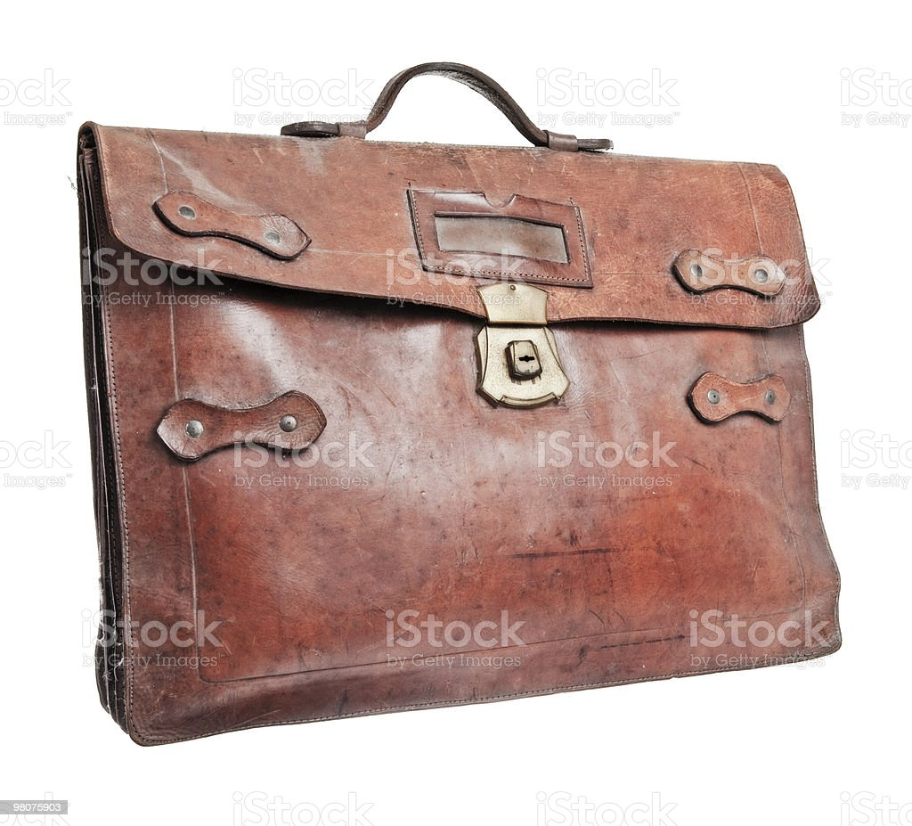Brief case royalty-free stock photo