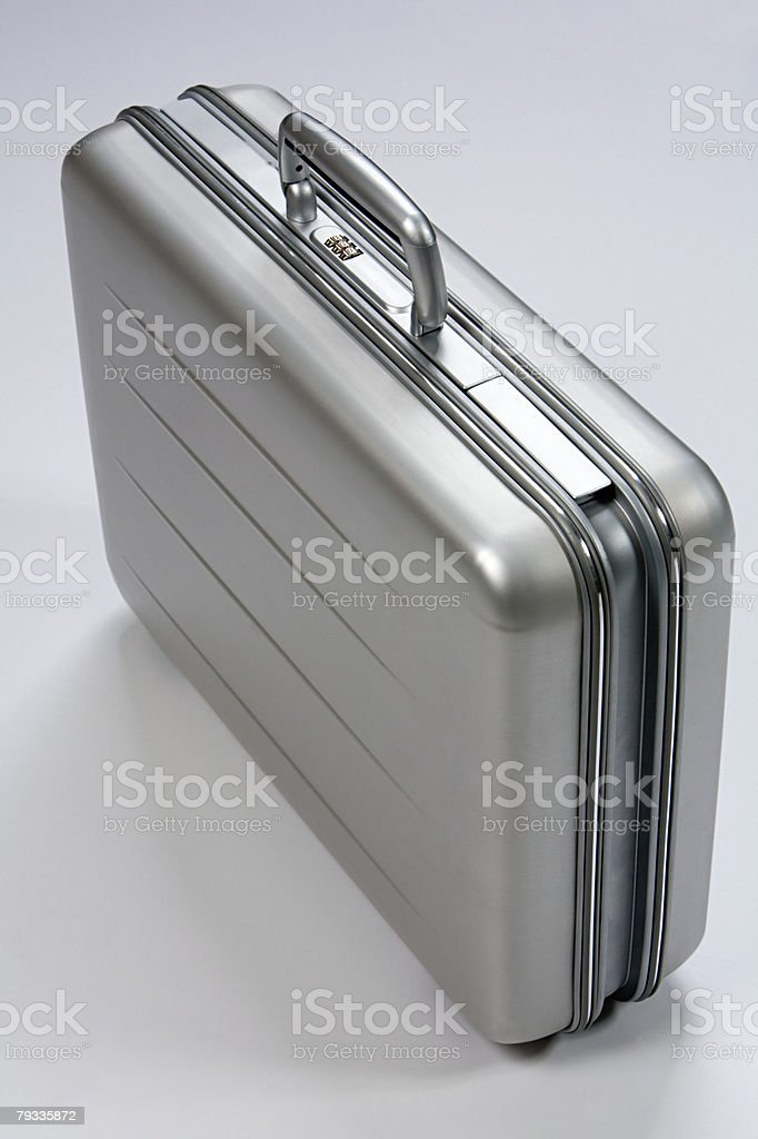 Briefcase royalty-free stock photo