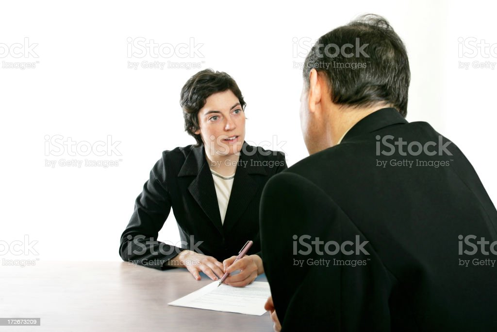 Briefing royalty-free stock photo