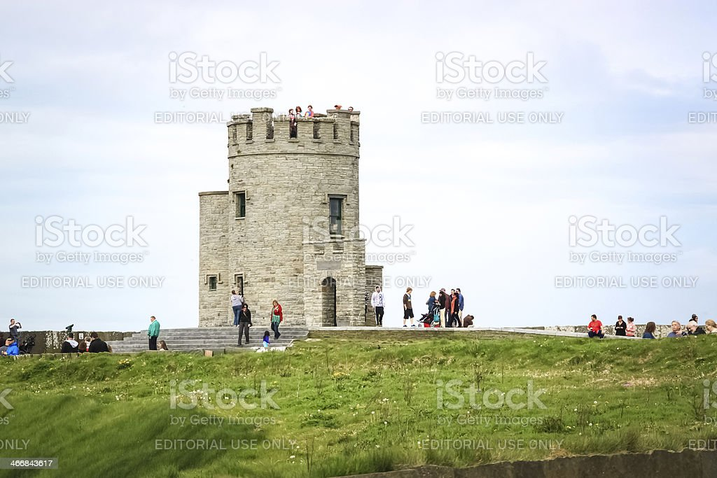 O'Brien's Tower, Ireland stock photo