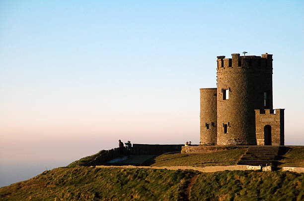 o'brien's tower - cliffs of moher stock pictures, royalty-free photos & images