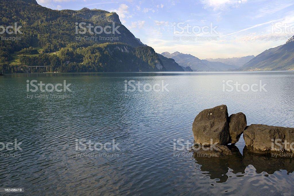 brienz lake royalty-free stock photo