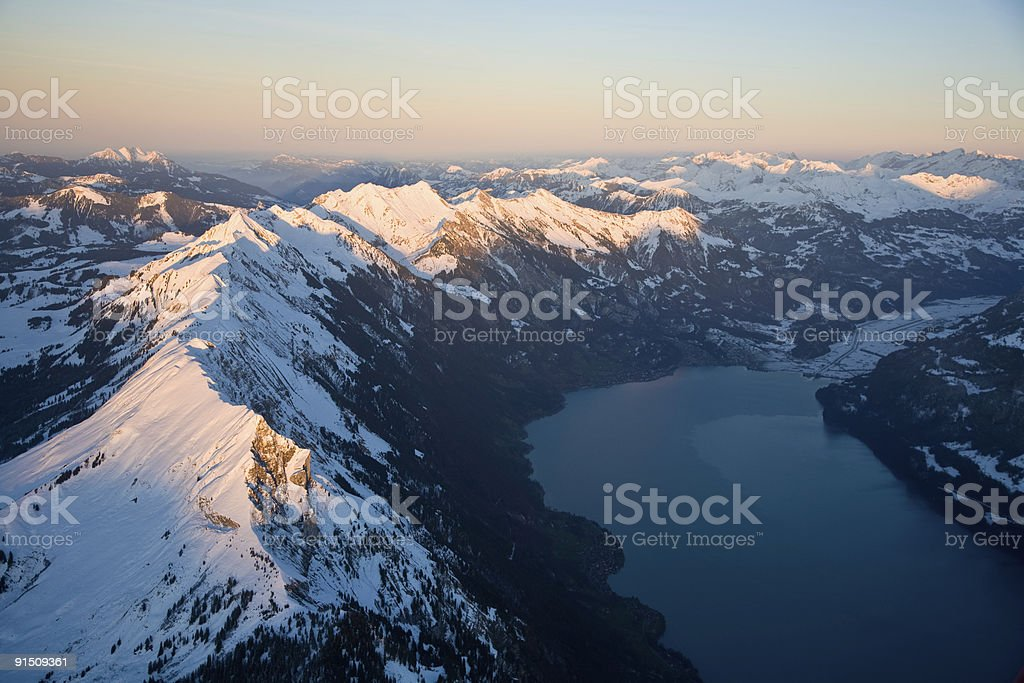 Brienzer Rothorn royalty-free stock photo