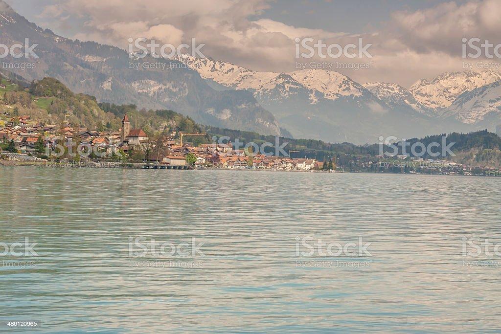 Brienzersee lake - Switzerland. royalty-free stock photo