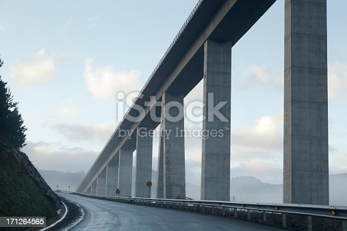 bridge and road