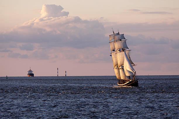 Brigg Morgenster auf der Nordsee in Cuxhaven – Foto