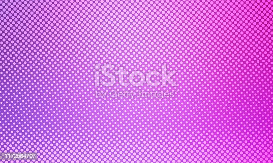 istock Bright abstract background, colored halftones, blue, pink, purple, for design, abstraction, holiday 1172564707