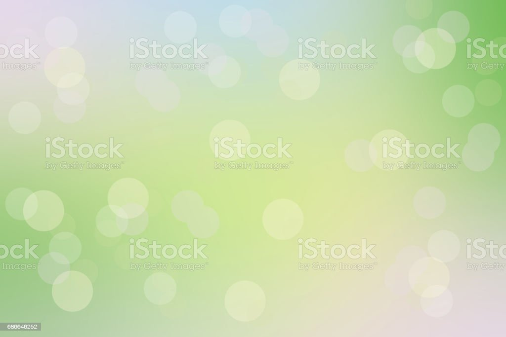 Bright and Beautiful Bokeh Background. royalty-free stock photo