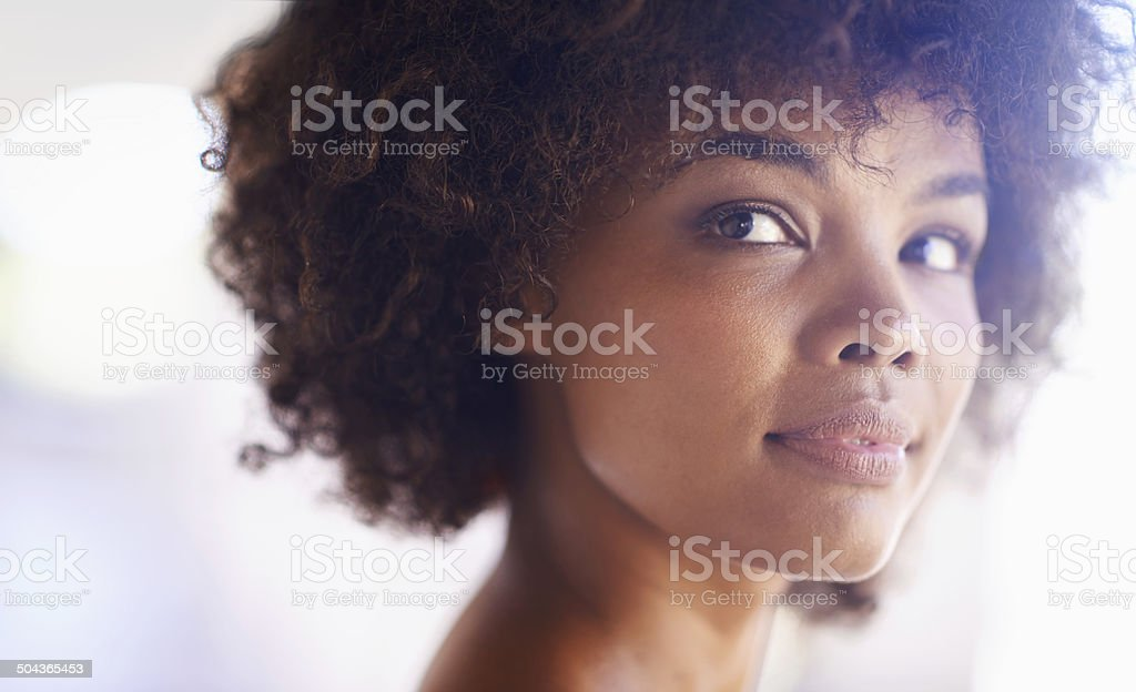 Bright and beautiful on a sunny day stock photo