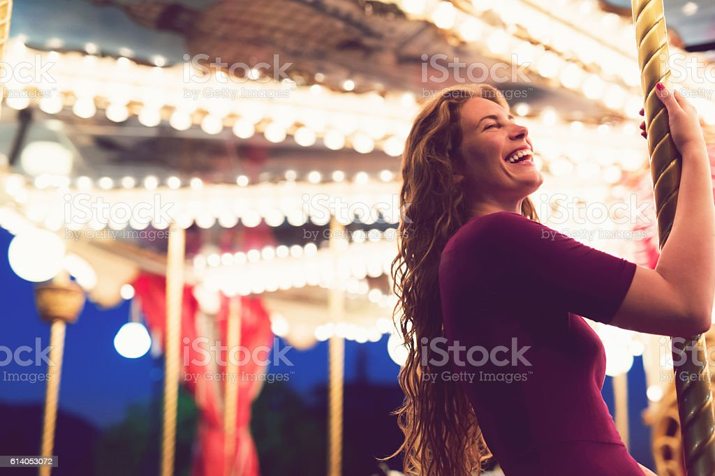 Bright And Colorful Dreamland Nights stock photo