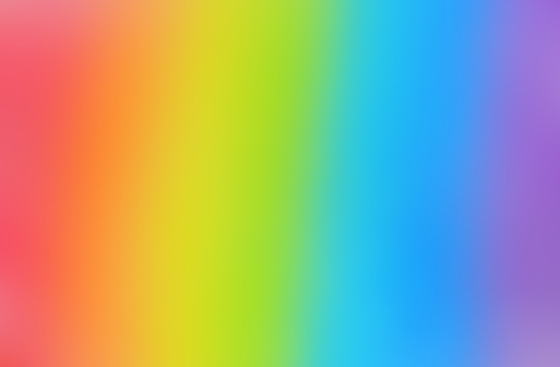 Bright And Smooth Rainbow Background Stock Photo - Download Image Now