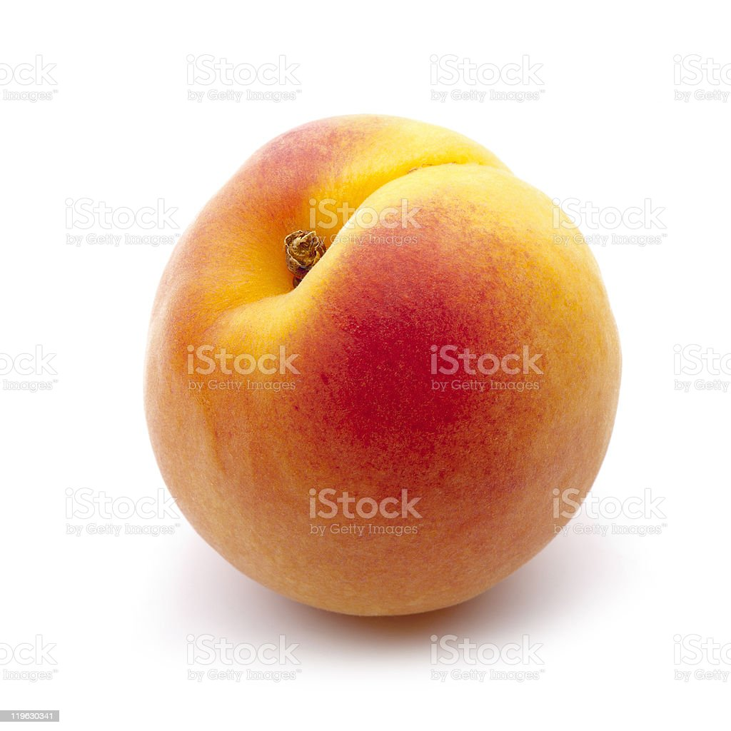 bright apricot close-up stock photo