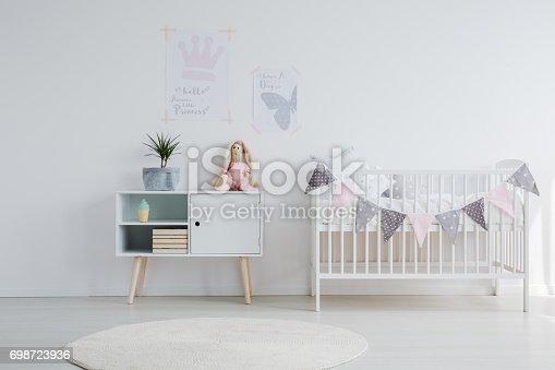 istock Bright baby room 698723936