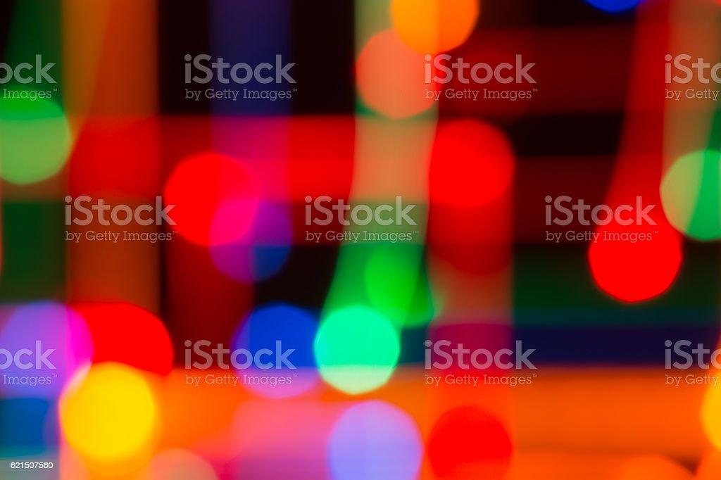 Hellen Hintergrund der Lichter Lizenzfreies stock-foto