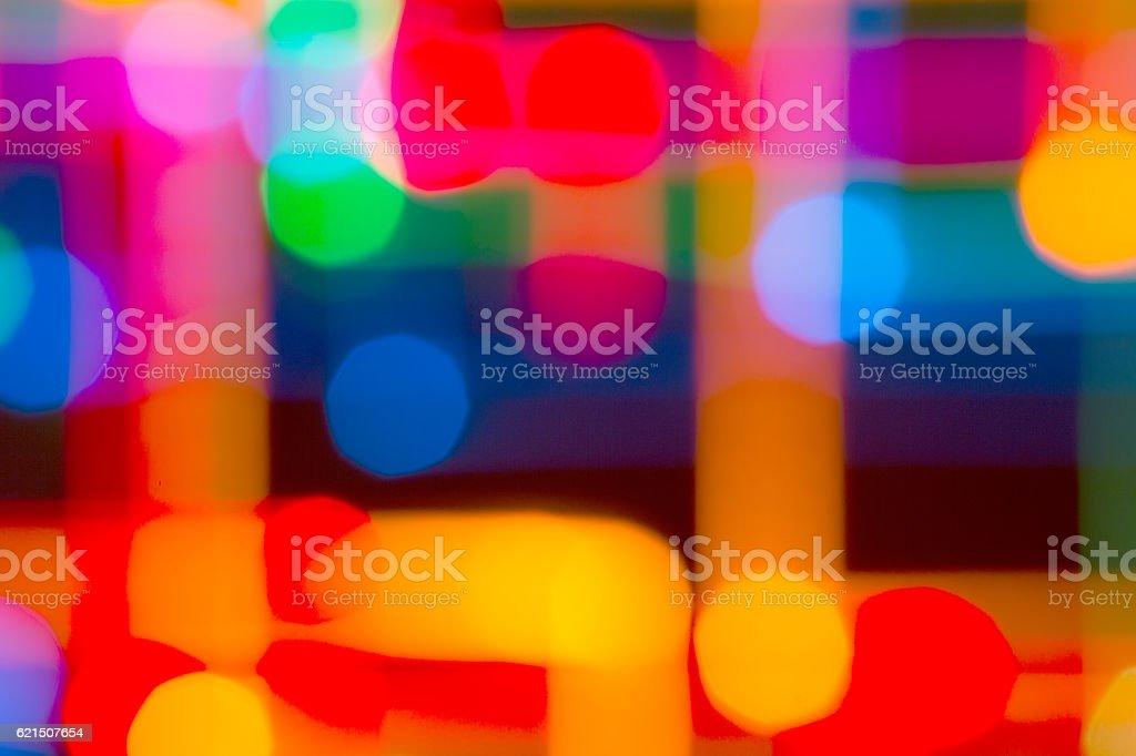Fond de lumières de couleur vive photo libre de droits