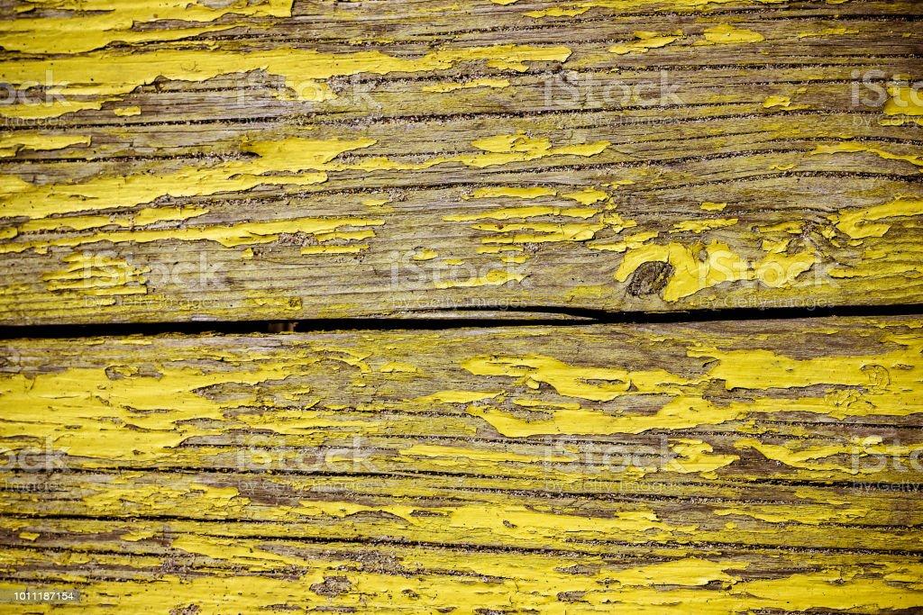 Fundo brilhante de tábuas de madeira amarelos - foto de acervo