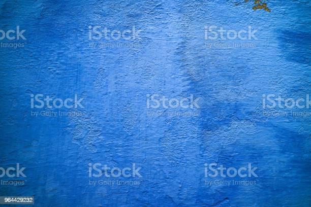 Foto de Brilhante Azul Muro De Concreto Perto Acima Textura De Verão e mais fotos de stock de Abstrato