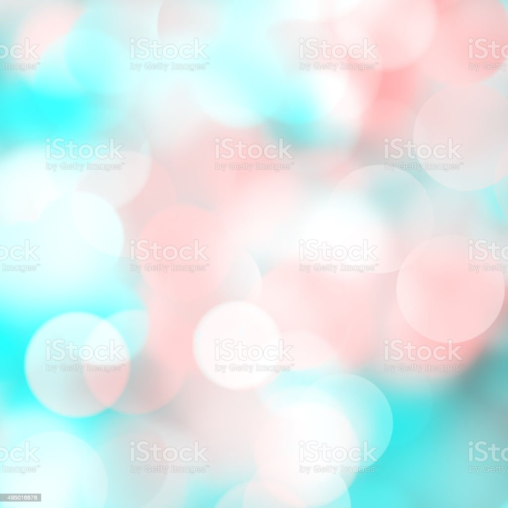 Bright Blurred Bokeh Dots On Light Color Background Royalty Free Stock Photo