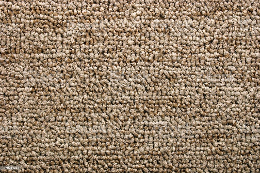 Bright brown carpet (Texture) stock photo