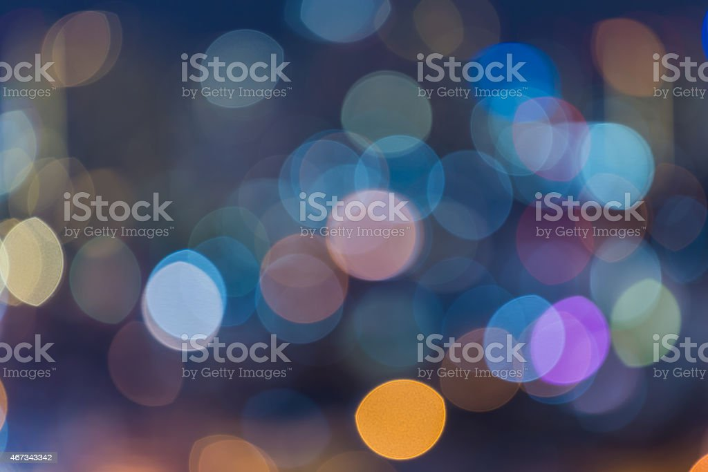 Bright colorful bokeh background stock photo