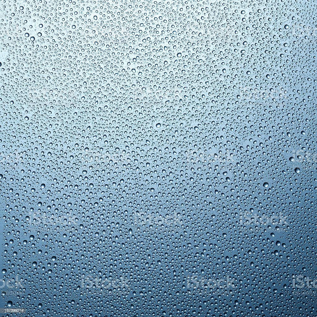 Bright condensation stock photo