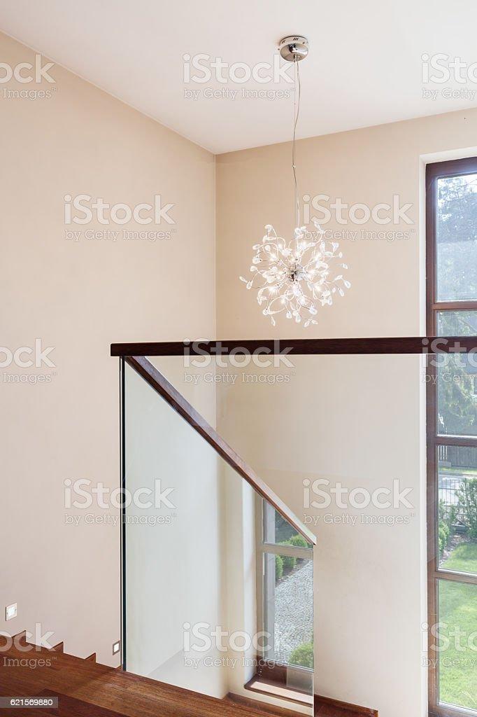 Hellen Korridor Lizenzfreies stock-foto