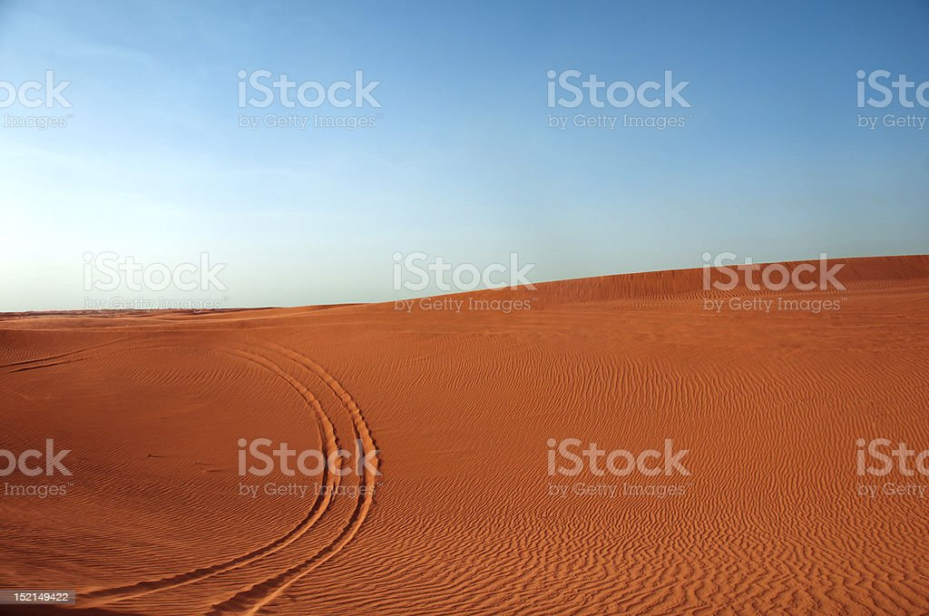Bright Desert royalty-free stock photo