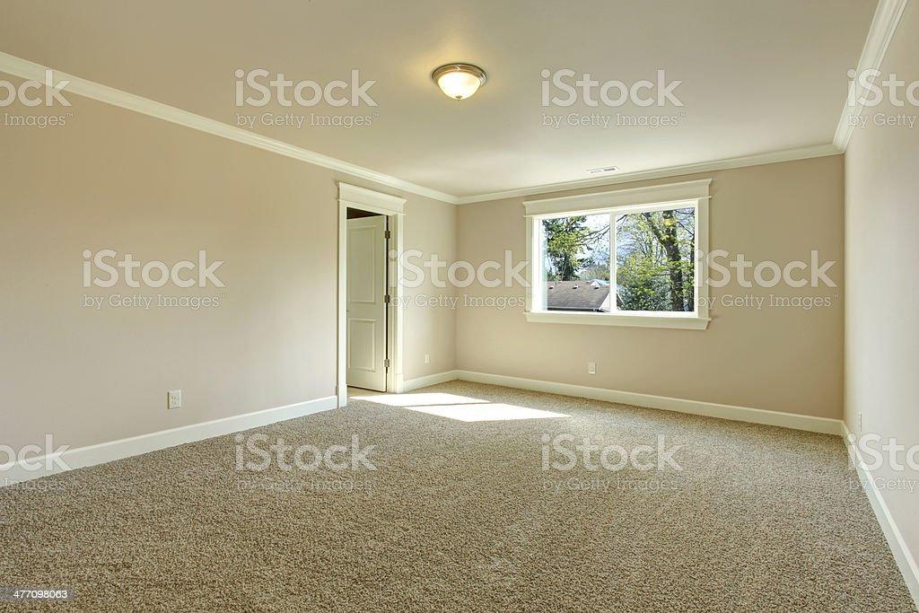 Helle leeren Schlafzimmer – Foto