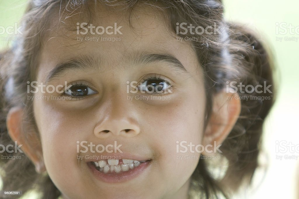 Bright Eyes royalty-free stock photo