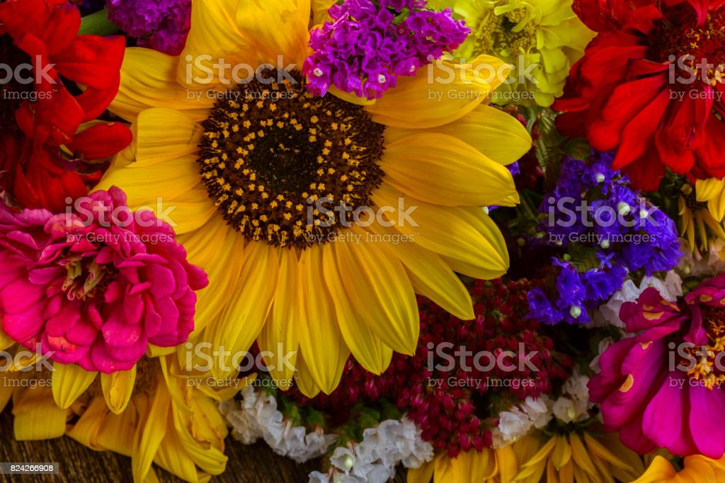 Bright Fall Bouquet Stock Photo Download Image Now Istock