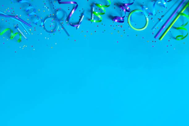 Bright festive blue background with party accessories picture id1093222978?b=1&k=6&m=1093222978&s=612x612&w=0&h=ebyzegc3nope9lh1zmyrpeyydzqot0mcg c25tosqiq=