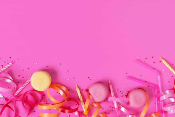 Bright festive pink background with birthday party accessories picture id1093222998?b=1&k=6&m=1093222998&s=612x612&w=0&h=qdzh9gydtmcflalk4ucsyb svpjdzhywtkk7w4z9eyw=