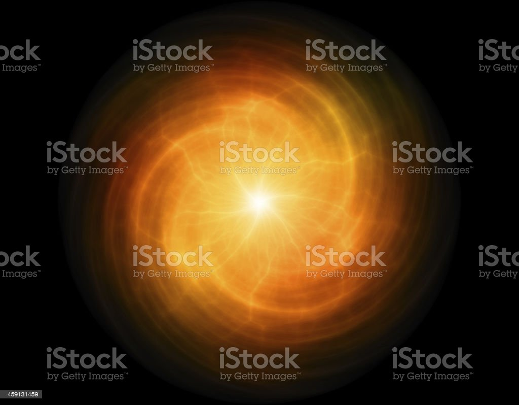bright flash on black space backgrounds stock photo