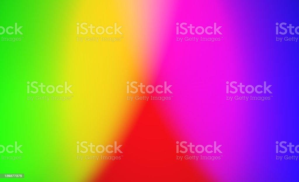 Bright Full Spectrum Background royalty-free stock photo