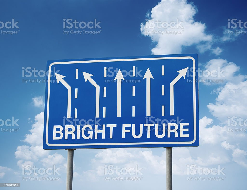 Bright Future royalty-free stock photo