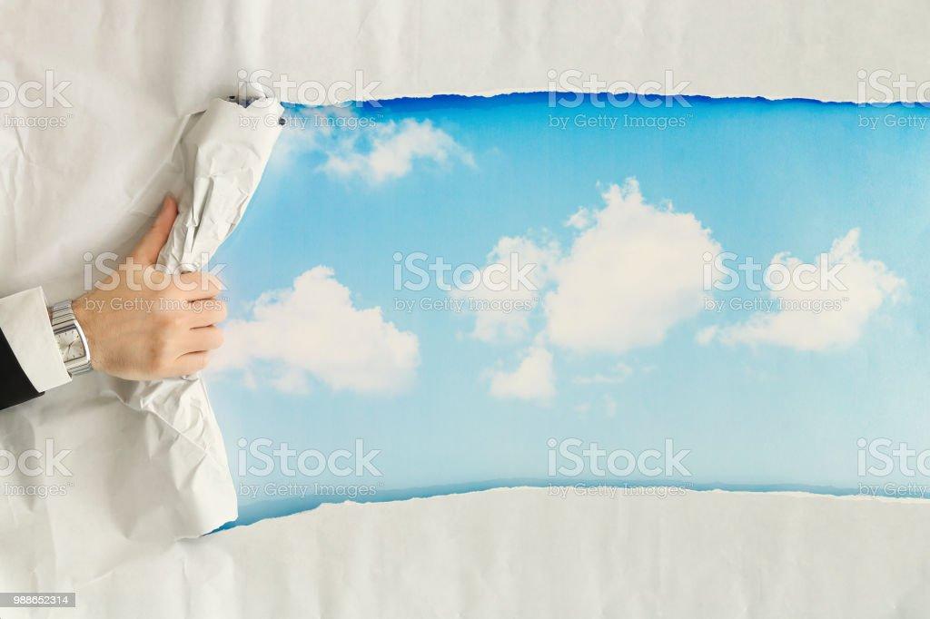 Bright Future Stock Photo