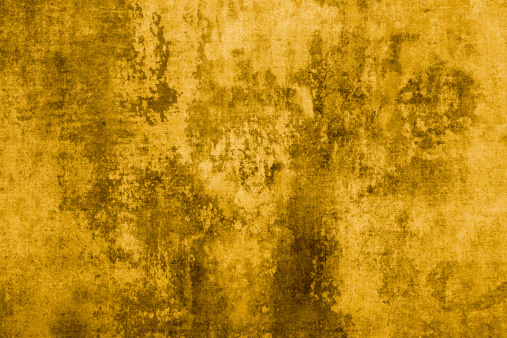 Abstract Gold Colored Background. Over 200 More Grunge & Abstract Backgrounds: